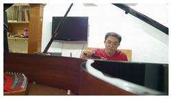 Tuning Dual Grand Piano